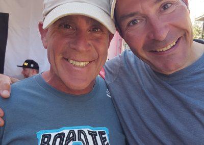 6 time Tour de France Green Jersey Winner Erik Zabel with Dr. Goldman